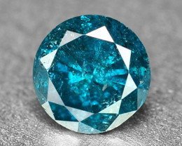 0.18 Cts Fancy Vivid Blue Color Loose Diamond