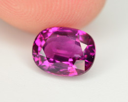 Rare 2.20 Ct Natural Grape Garnet From Mozambique. RA