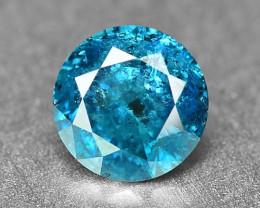 0.26 Cts Fancy Vivid Blue Color Loose Diamond