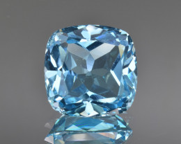 Natural Blue Topaz 13.00 Cts Top Clean Gemstone