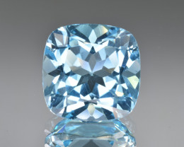 Natural Blue Topaz 13.82 Cts Top Clean Gemstone