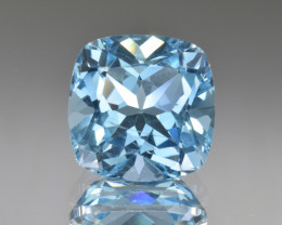 Natural Blue Topaz 14.33 Cts Top Clean Gemstone