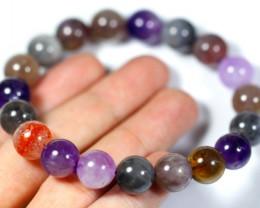 183Ct Natural Super Seven Crystal Bracelet