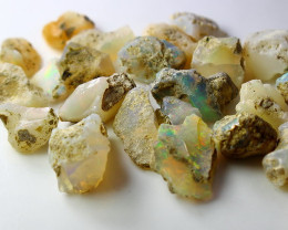 49.80 CT Natural - Unheated White Opal Rough Lot