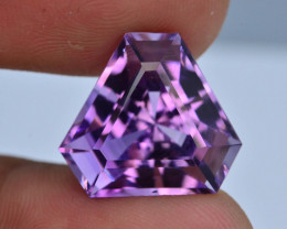 AAA Cut & Color  14.40 ct  Untreated Amethyst
