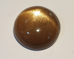 17.89ct  Cats Eye Sunstone Round Cabochon 18mm(SKU168)