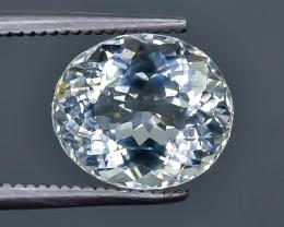 3.07 Crt Aquamarine Faceted Gemstone (Rk-15)