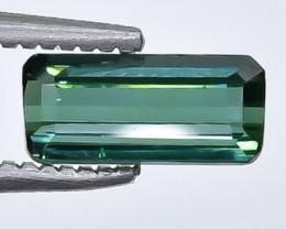 0.86 Crt Tourmaline Faceted Gemstone (Rk-15)