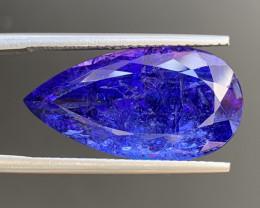 AAA Color 12.60 Carats Tanzanite Gemstone