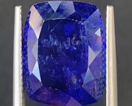 AAA Color 11.40 Carats Tanzanite Gemstones