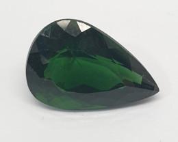 5.2ct  Green Apatite Pear 13.6x9.5mm(SKU 165)