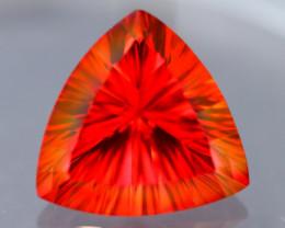 Red Topaz 11.47Ct Master Piece of Designer Cut Red Topaz Opal A126