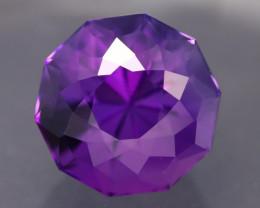 Uruguay Amethyst 7.16Ct Natural Top Vivid Violet Amethyst A134