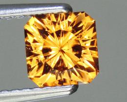 Spessartite Garnet 1.44 ct Custom Cut Garnet Gemstone