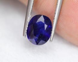3.73Ct Ceylon Blue Sapphire Oval Cut Lot B1831