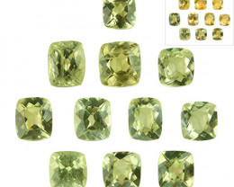 5.54 Cts Natural Color Change Diaspore Cushion Cut 11Pcs Parcel Turkey