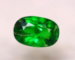 Tsavorite 0.80Ct Natural Intense Vivid Green Color Tsavorite Garnet D0702