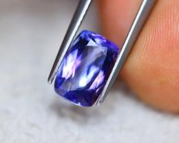 3.31ct Natural Violet Blue Tanzanite Octagon Cut Lot D391