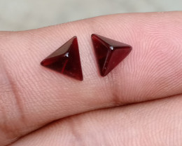 Fancy Cut Natural Garnet Pair Natural+Untreated VA1422