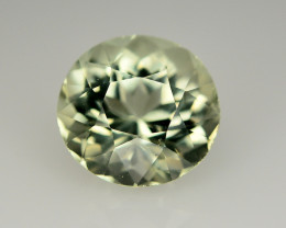 5.85 CERT NATURAL GREEN BERYL GEMSTONE