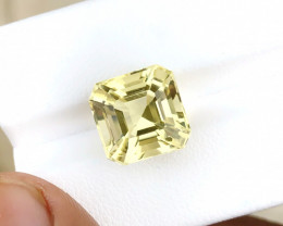 7.90 Ct Natural Yellowish Transparent Citrine Gemstone