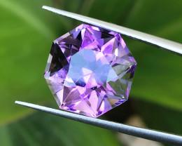 11.15 Ct Natural Purple Transparent Amethyst Gemstone