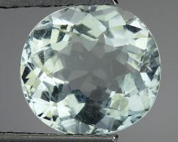 2.59 Ct Natural Aquamarine Top Luster Gemstone. AQ 13