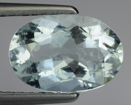 2.05 Ct Natural Aquamarine Top Luster Gemstone. AQ 16