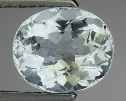 1.95 Ct Natural Aquamarine Top Luster Gemstone. AQ 20