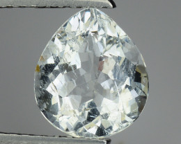 1.59 Ct Natural Aquamarine Top Luster Gemstone. AQ 23
