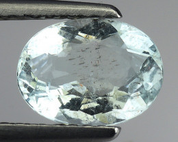 1.08 Ct Natural Aquamarine Top Luster Gemstone. AQ 37