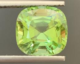 5.70 Carats Natural Color Tourmaline Gemstone