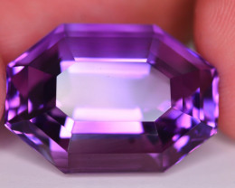23.00 CT Natural Gorgeous Color Fancy Cut Amethyst ~ T
