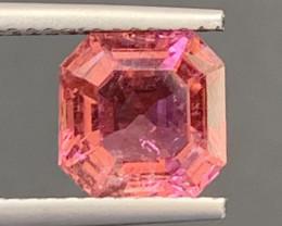2.35 Carats Natural Pink Color Tourmaline Gemstone