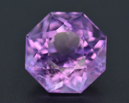 .Top Color 19.40 CT Natural Gorgeous Color Fancy Cut Amethyst ~ I B