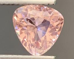 1.85 Carats Natural Baby Pink Color Tourmaline Gemstone
