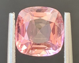 2.45 Carats Natural Baby Pink  Color Tourmaline Gemstone