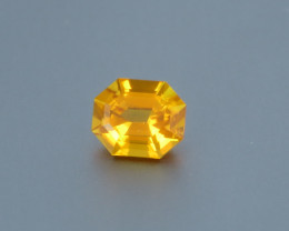 1.29ct Natural Beautiful Fancy Cut Clinohumite From Africa