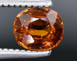 0.92 Crt Natural Spessartite Garnet Faceted Gemstone.( AB 44)