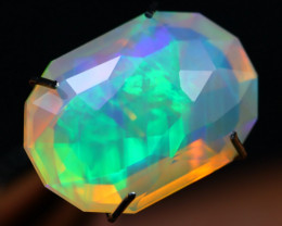 3.12Ct Super Bright Color Play Ethiopian Master Cut Welo Opal A136