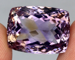 24.66 ct. Antique Cut 100% Natural Top Bi Colors Purple Yellow Ametrine