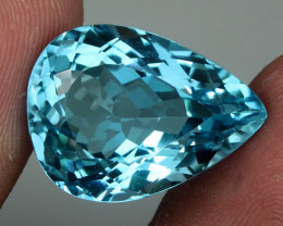 20.50 ct. 100% Natural Top Sky Blue Topaz Brazil