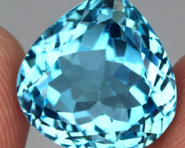 21.62 ct. Natural Swiss Blue Topaz Top Quality Gemstone Brazil