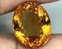 23.25  ct. 100% Natural Unheated Top Yellow Golden Citrine Brazil