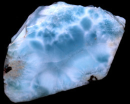 156.90 CTS  LARIMAR ROUGH  SLAB  [F8735]
