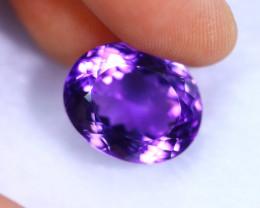 15.70cts Natural Violet Color Amethyst / RD1076