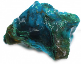 37.60 CTS CHRYSOCOLLA  WITH GEM SILICA - BRAZIL [F8750]