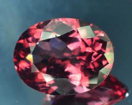 Rare Red Apatite 5.45 ct Amazing Luster