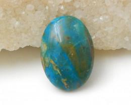 17.5cts Blue Opal Cabochon,Healing Stone,Wholesale Jewelry F663