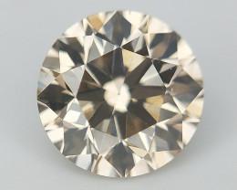 Fancy Dark Color Diamond , Rare Natural Diamond , 0.45 cts